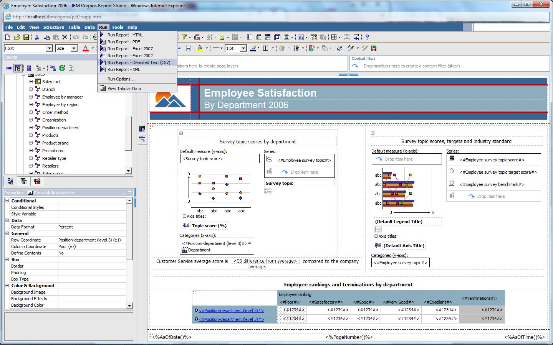IBM Cognos Report Studio Training Courses