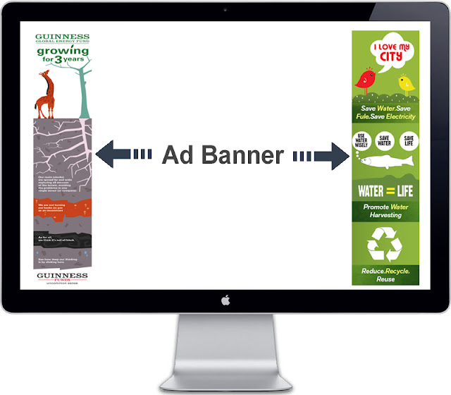 floating ad banner