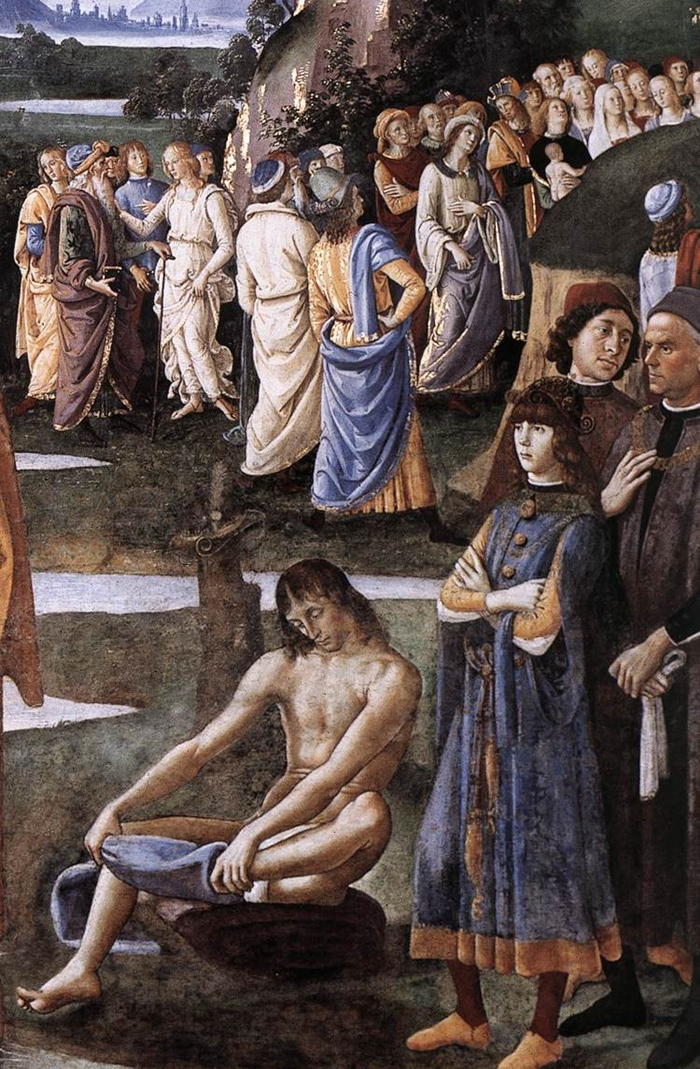 The Sistine Chapel Perugino's frescoes