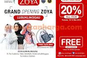 ZOYA FASHION HIJAB Promo Grand Opening LubukLinggau