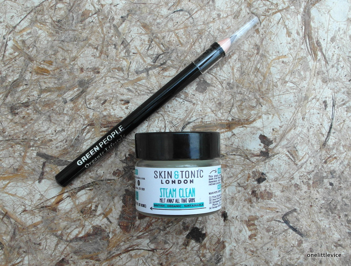 Skin and Tonic London Steam Clean Cleanser Green People Eyeliner Forest Brown