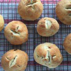 Receta para preparar panes con sabores