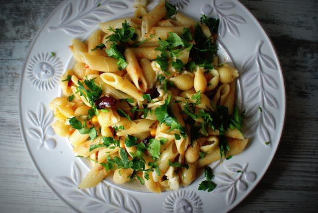Malma,pasta con tonno,tuńczyk,ser koryciński swojski,parmezan,parmigiano reggiano,makaron z tuńczykiem,