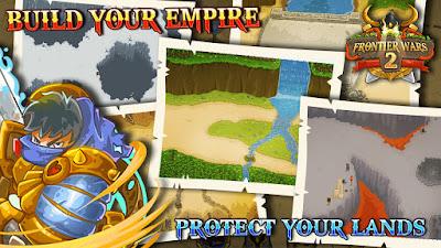 Download Game Frontier Wars 2: Rival Kingdoms Mod (Infinite Gold + Diamond) Offline gilaandroid.com