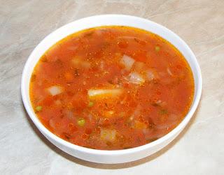 supa de rosii, supe, supa, mancaruri cu legume, retete de post, mancaruri de post, preparate de post, sanatate, dieta, retete culinare,