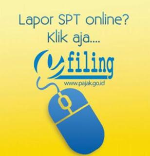 cara daftar e-filing untuk lapor pajak online