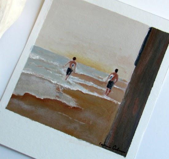 Polaroid Paintings By Magic Markings Art Poppytalk