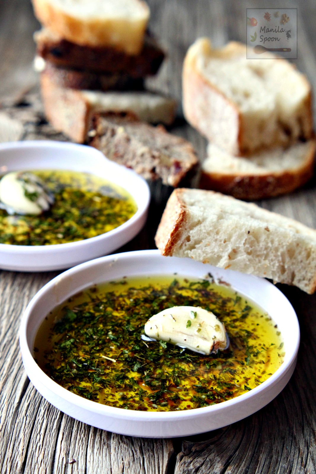 Italian Bread Dipping (Oil) Sauce