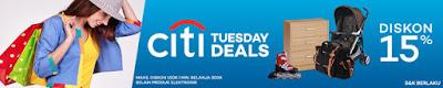 Citi Tuesday Deals – Lazada