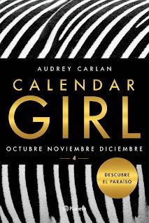 Calendar Girl 4 ~ Audrey Carlan