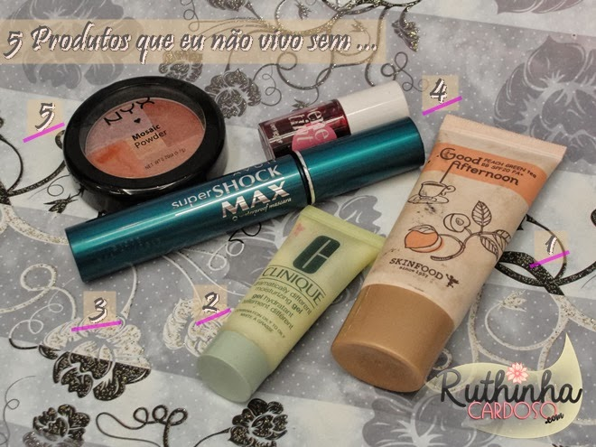 nyx mosaic máscara super shock max bb cream skinfood hidratante gel clinique benetint benefit