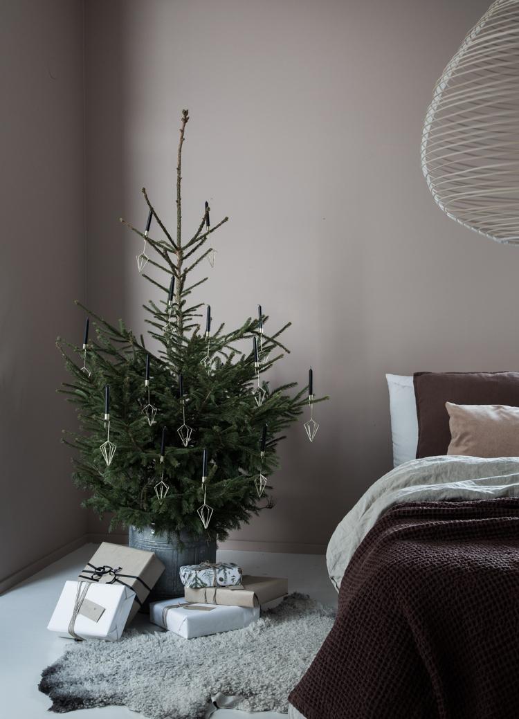 5 árboles de Navidad minimalistas