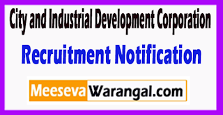 CIDCO City and Industrial Development Corporation Recruitment Notification Last Date 23-06-2017