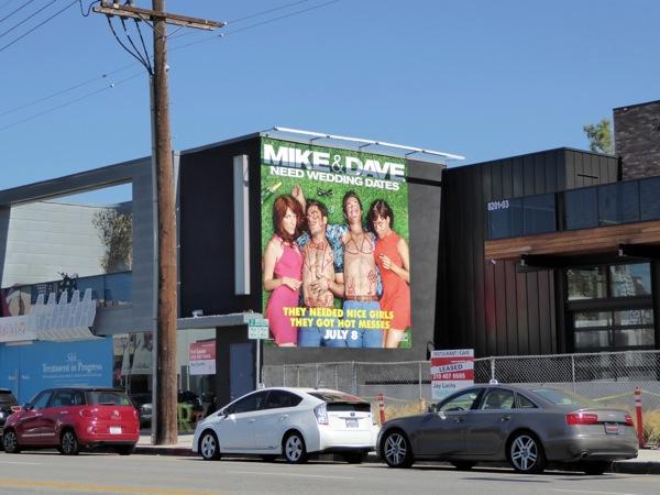 Mike Dave Need Wedding Dates billboard