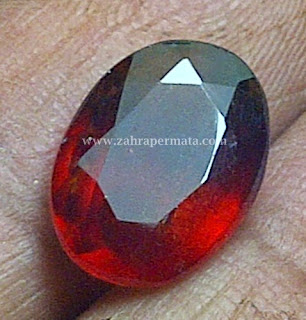 Batu Permata Hessonite Garnet - ZP 240