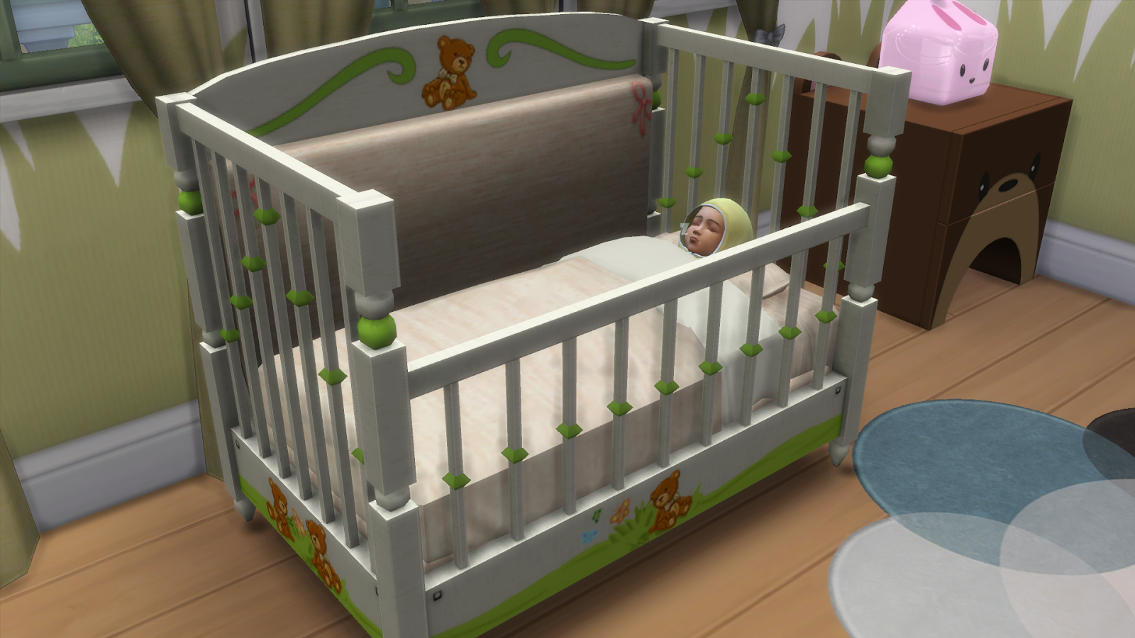 My Sims 4 Blog TS3 Animal Cribs Conversion For Toddlers