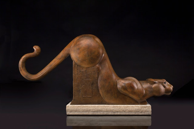 "by Tim Cherry, ""Silent Shadow"" - bronze 