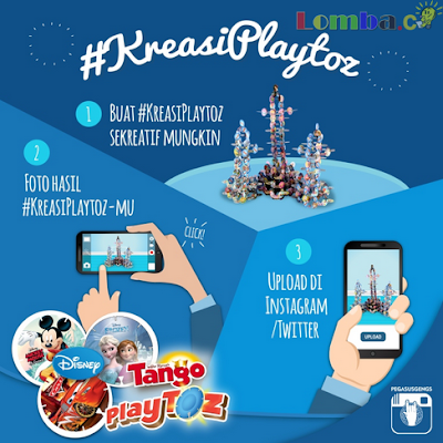 Lomba Kreasi Playtoz Tango Hadiah Playstation 4 & Goodie Bag