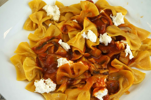 pasta fresca: farfalle
