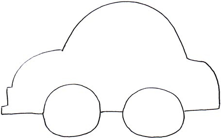 car outlines templates