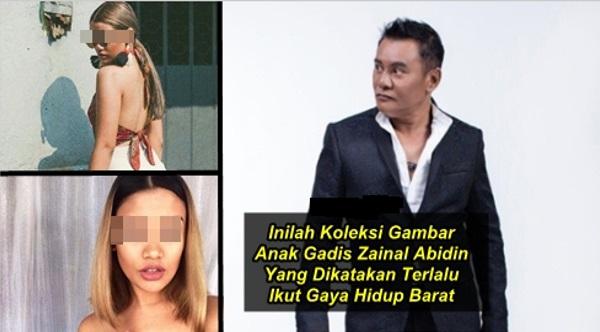 FUH !!! HOT GILERR !! 12 Foto Anak Gadis Zainal Abidin Yang Terlalu Ikut Gaya Hidup Barat..GAMBAR KE-3 MEMANG BERANI BETUL...TAK SANGGUP NAK LIHAT...