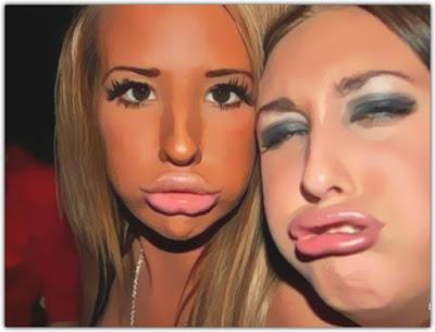 Benarkah sering selfie duck face tanda alami gangguan jiwa?
