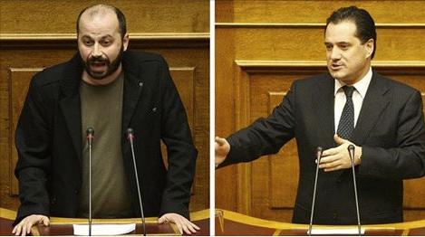 Διαμαντόπουλος: «Τέλος η τρόικα» – Άδωνις: «Δεν ντρέπεσαι να λες τέτοια ψέματα;»