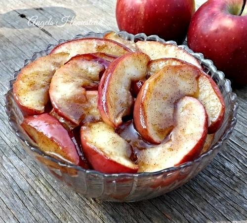Fried Apples - Home Sweet Homestead