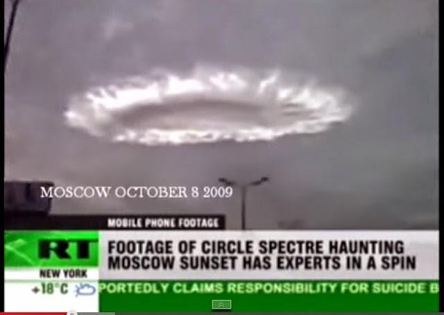Bukti Penampakan UFO Asli di Moscow
