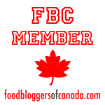 We are members of Food Bloggers of Canada