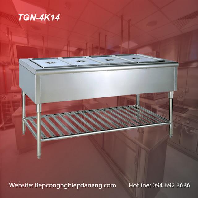 Bàn giữ nóng thức ăn 4 khay TGN-4K14