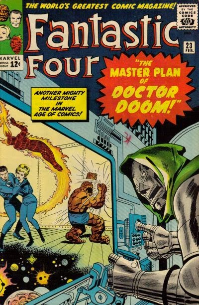 Fantastic Four #23, Dr Doom