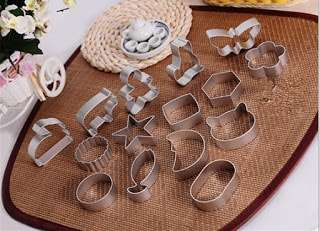 Stainless Cookie Cutters