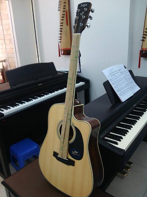 Học đàn Guitar tại quận 2