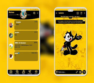 Hey Mr Theme For YOWhatsApp & Fouad WhatsApp By Mary