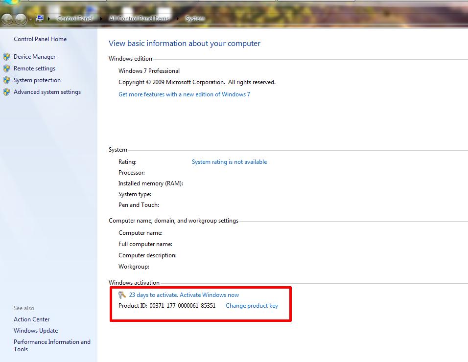 Free Download : Activator windows 7 , Xp, Vasta ~ Welcome to
