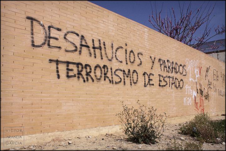 fotografía, Arriba Extraña, desahucios, Valencia, crisis