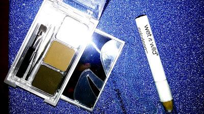 Ombretti pinzette specchio matita gel fissante