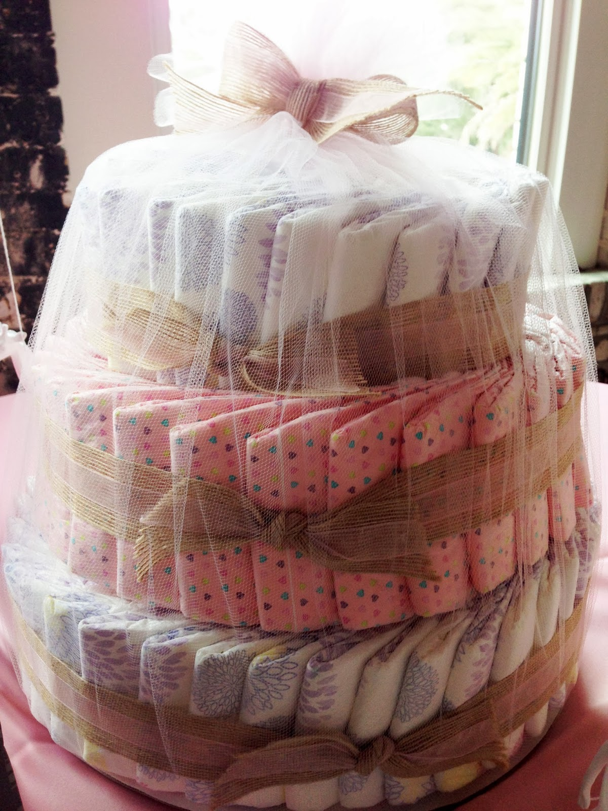 Is Complete Without A Diaper Cake From The Honest Company SO Cute