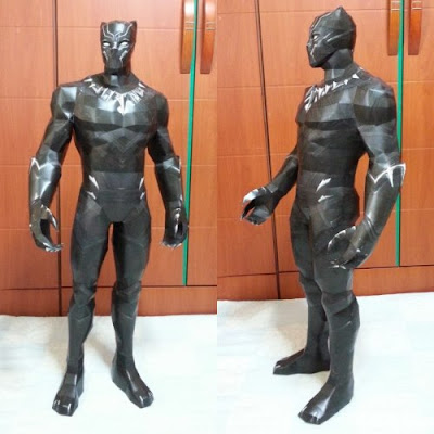 Marvel Comics Black Panther Paper Model