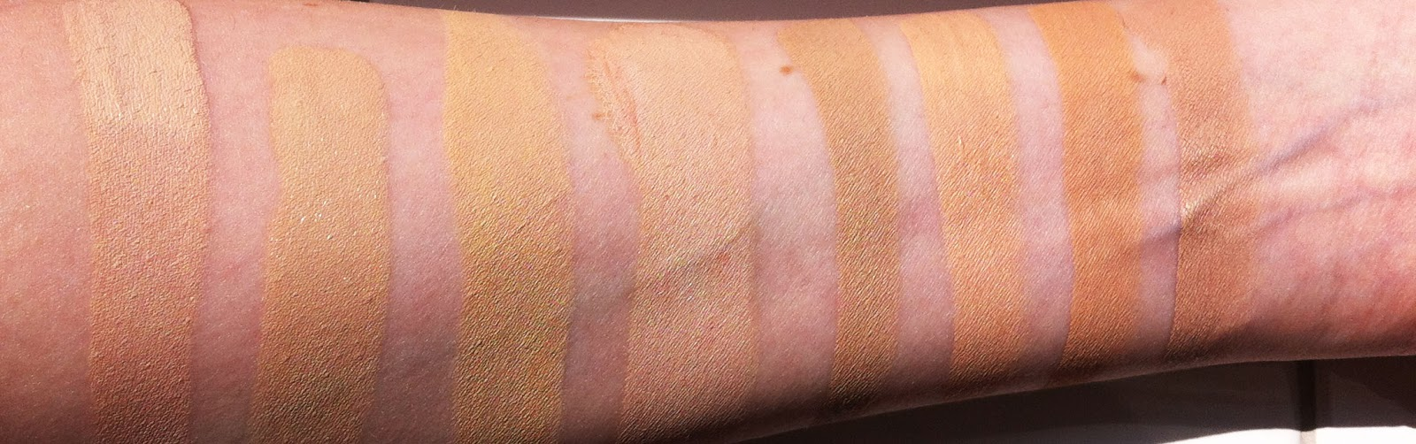 Makeup Of Mine My Foundation Swatches And How To Choose A Foundation