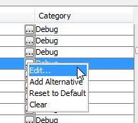 opciones para editar o modificar atajos de teclado en netbeans ide