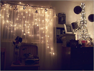 String Lights and Fairy Light for Bedroom Designs