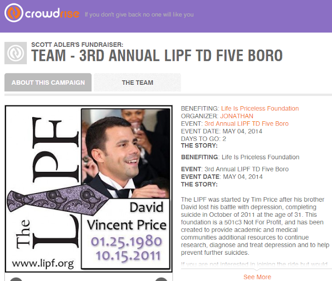 Support the 3rd annual LIPF to five boros!