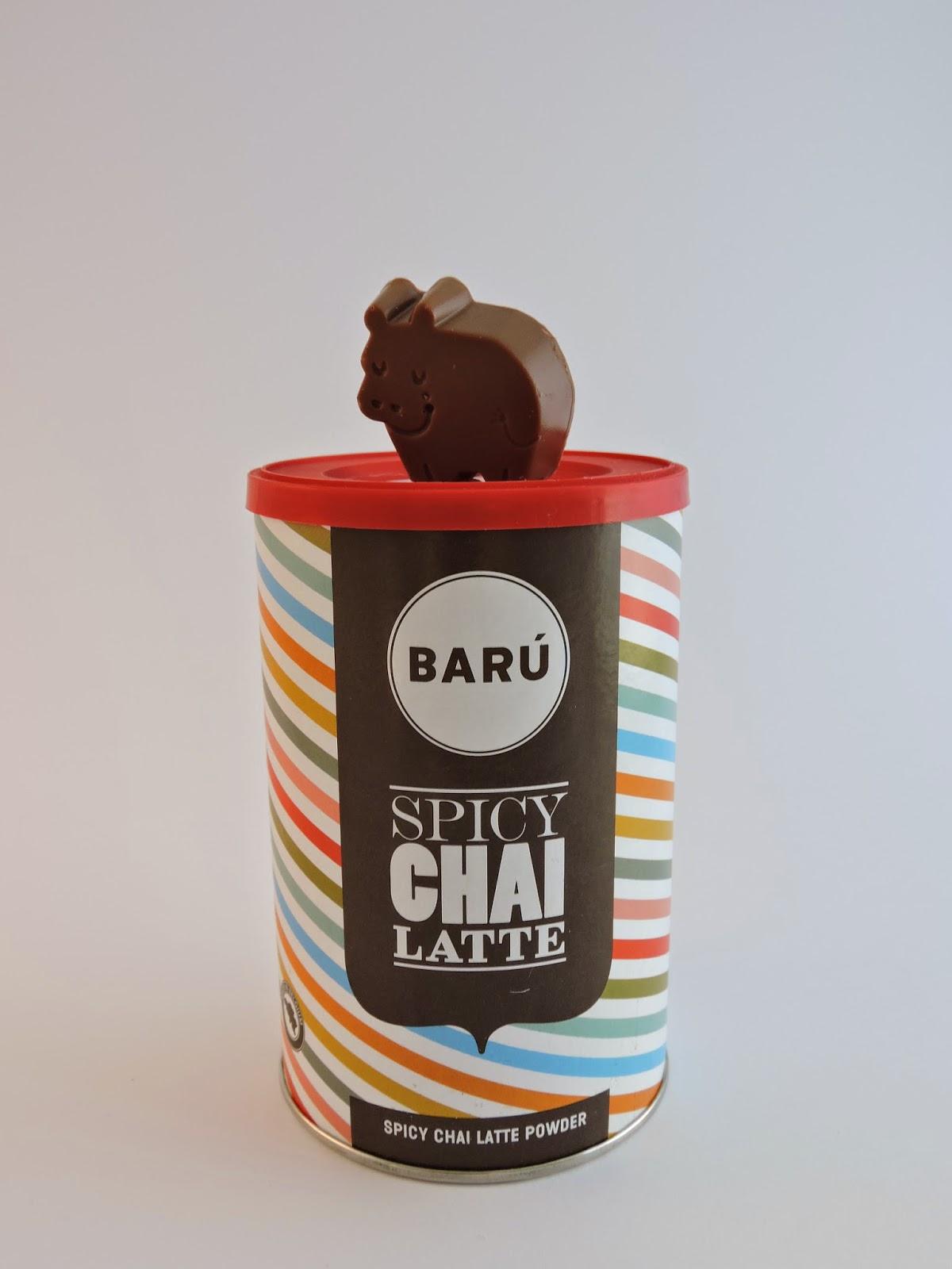 Spicy chai latte Chocolats Barú