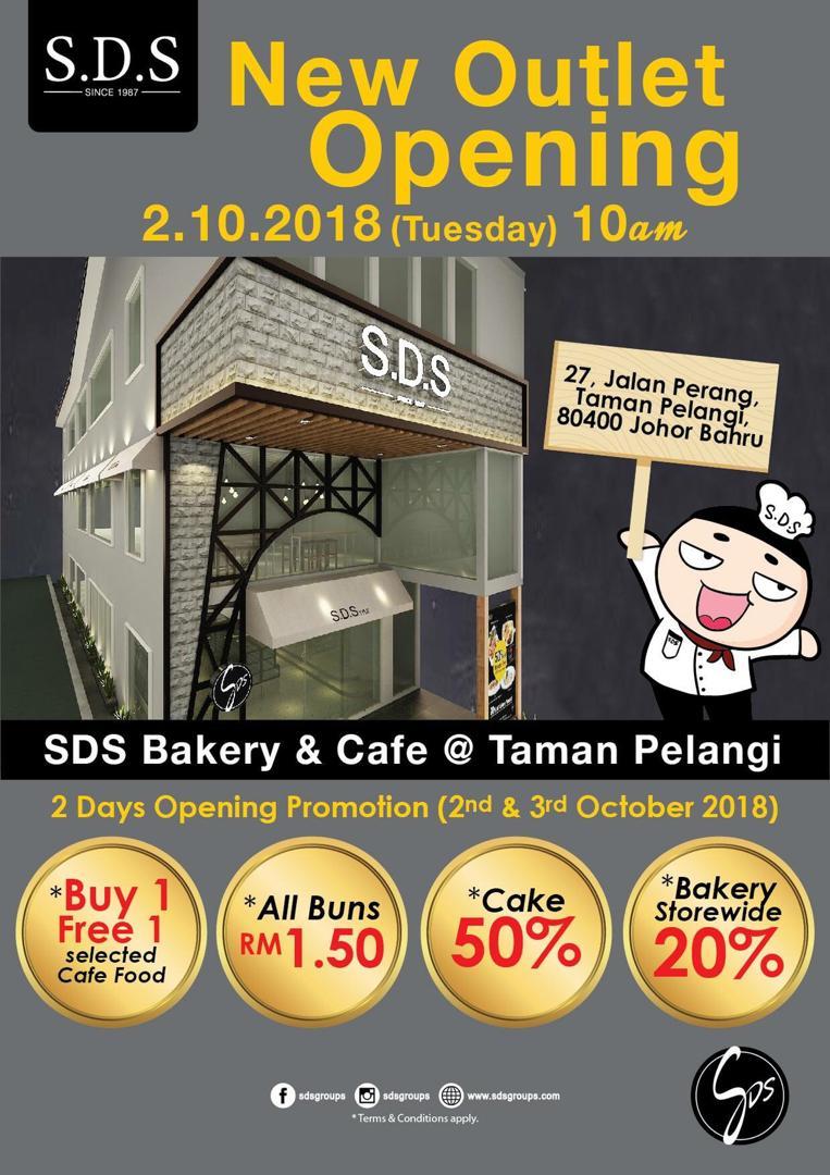 SDS Bakery ada outlet baru, jom terjah!! - Ako Tetap Ako