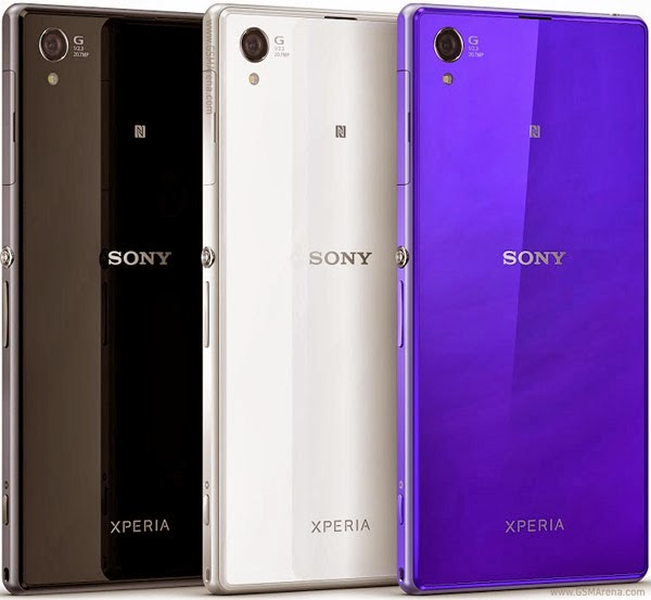 Xperia Z1 Compact which features a sleek design