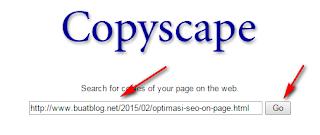 Cara Mendeteksi Blog Yang Copy Paste