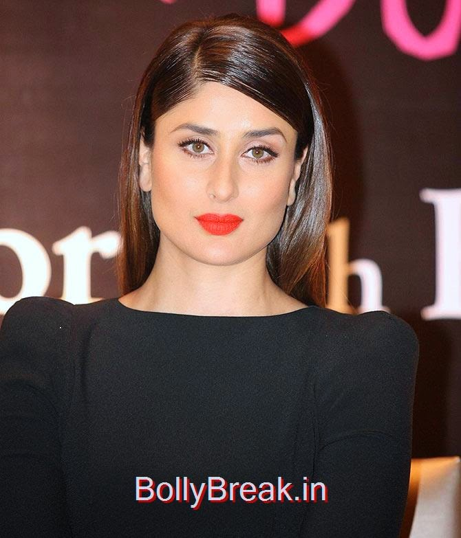 Bollywood Actresses Lipstick Styles - Red, Pink, Nude - 12 -1717