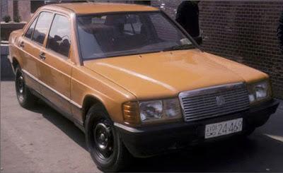 Un falso Mercedes coreano